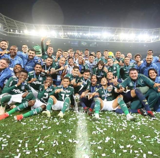 Palmeiras Campeão Brasileiro Sub-20
