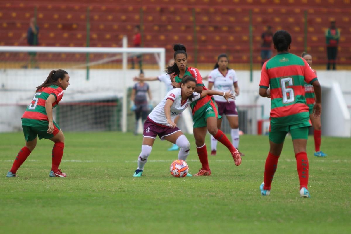 Santos e Juventus se enfrentam no Paulista Feminino