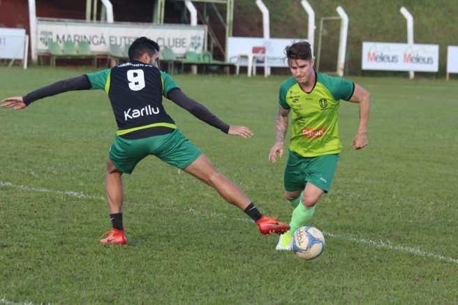 Léo Bartholo volta a treinar com o grupo do MFC